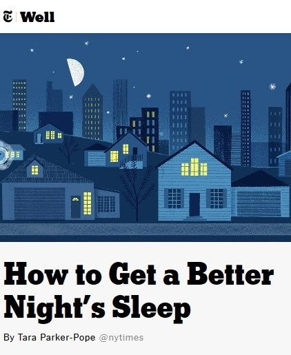 Image of: How to Get a Better Night's Sleep