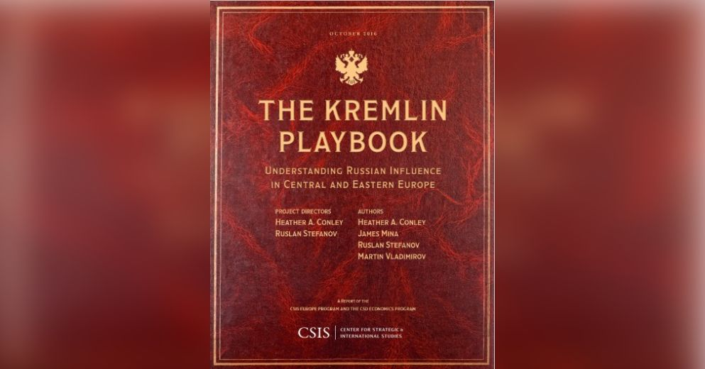 The Kremlin Playbook Free Summary by Heather A  Conley