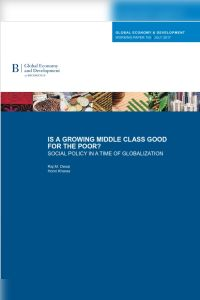 Is a growing middle class good for the poor? summary