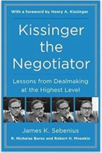 Kissinger the Negotiator book summary