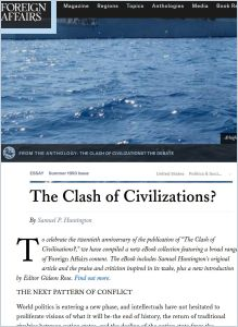 Clash of Civilizations?  summary