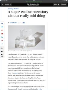A Super-Cool Science Story About a Really Cold Thing summary
