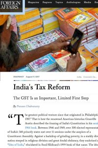 India's Tax Reform summary
