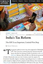 India's Tax Reform