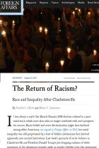 The Return of Racism?