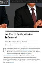 An Era of Authoritarian Influence?