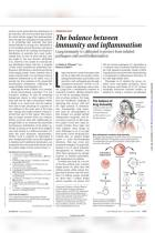 The Balance Between Immunity and Inflammation