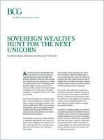 Sovereign Wealth's Hunt for the Next Unicorn