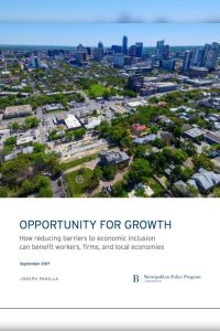 Opportunity for Growth summary