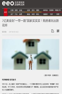Chinese Real Estate Investors' New Trick summary