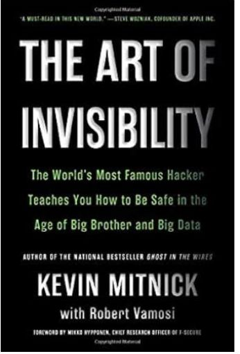 Image of: The Art of Invisibility