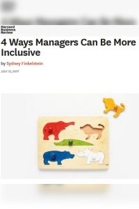 4 Ways Managers Can Be More Inclusive summary