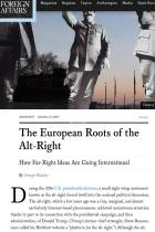 The European Roots of the Alt-Right