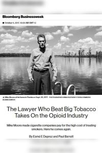 The Lawyer Who Beat Big Tobacco Takes on the Opioid Industry summary