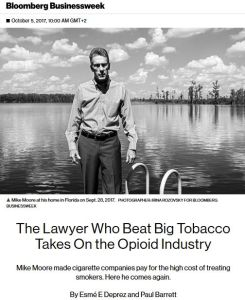 The Lawyer Who Beat Big Tobacco Takes on the Opioid Industry