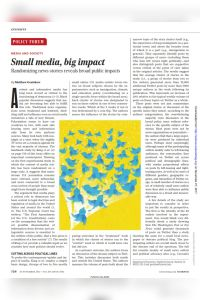 Small Media, Big Impact summary