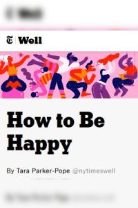 How to Be Happy summary
