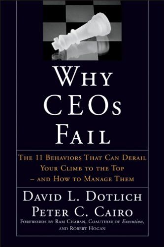 Image of: Why CEOs Fail