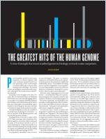 The Greatest Hits of the Human Genome