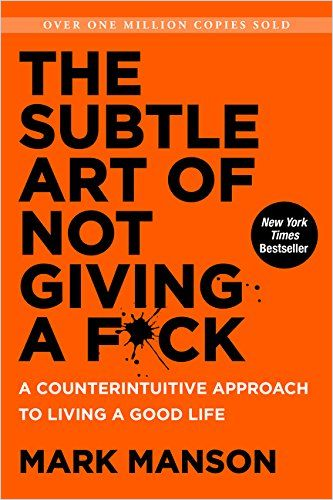 Image of: The Subtle Art of Not Giving a F*ck