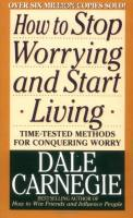 How to Stop Worrying and Start Living book summary