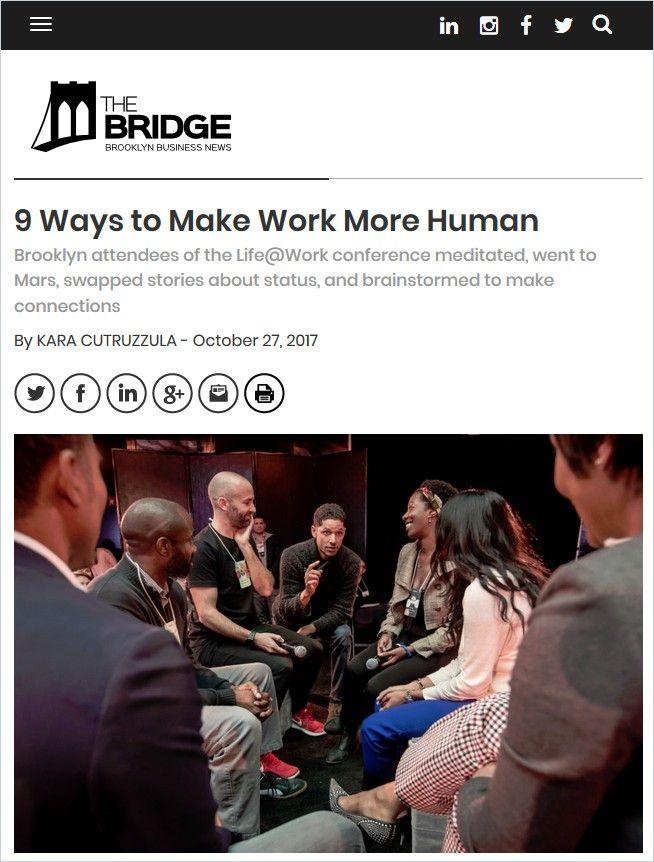 Image of: 9 Ways to Make Work More Human