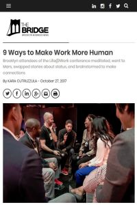 9 Ways to Make Work More Human summary