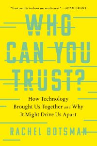 Who Can You Trust? book summary