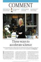 Three Ways to Accelerate Science