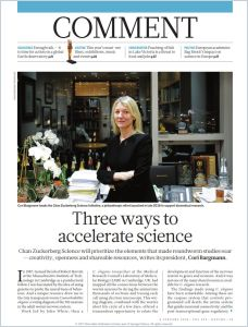 Three Way to Accelerate Science summary