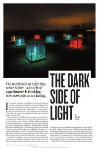 The Dark Side of Light: How Artificial Lighting is Harming the Natural World summary
