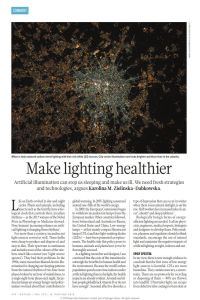 Make Lighting Healthier summary