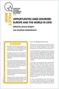 Opportunities Amid Disorder summary
