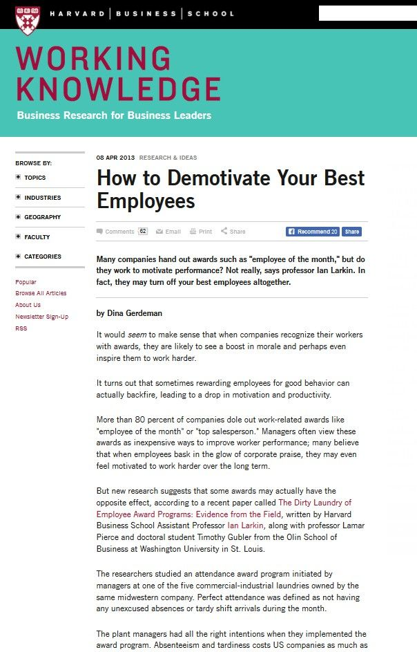Image of: How to Demotivate Your Best Employees