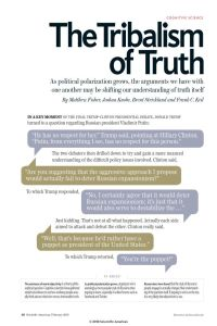 The Tribalism of Truth summary
