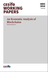 An Economic Analysis of  Blockchains summary