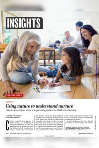 Using Nature to Understand Nurture summary