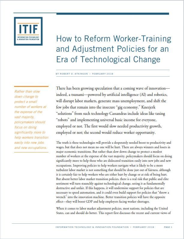 Image of: How to Reform Worker-Training and Adjustment Policies for an Era of Technological Change