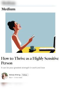 How to Thrive As a Highly Sensitive Person summary