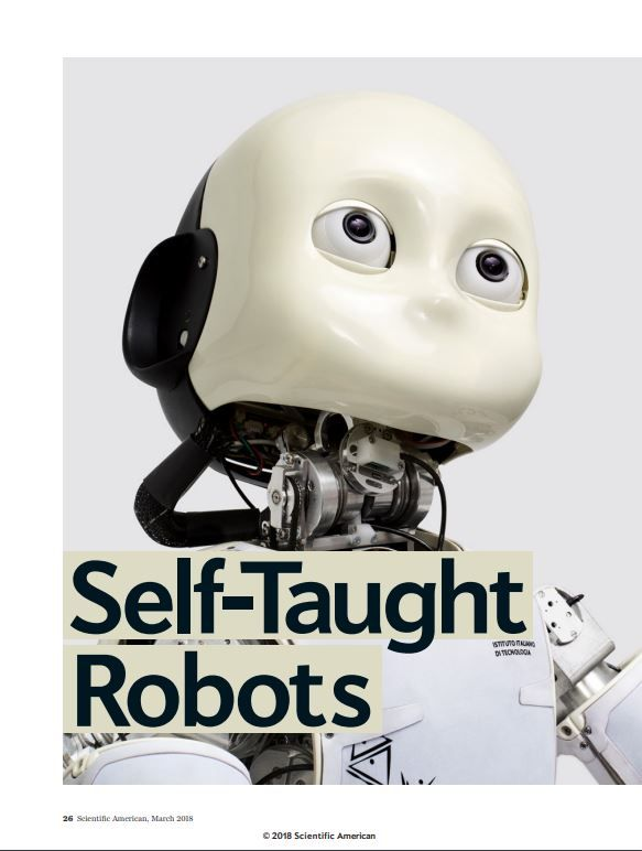 Image of: Self-Taught Robots