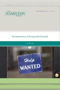 The Importance of Strong Labor Demand summary