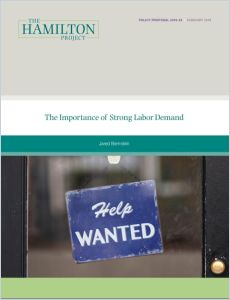 The Importance of Strong Labor Demand