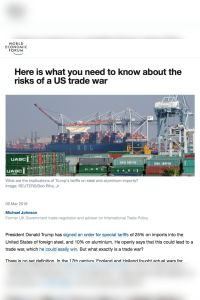 Here is what you need to know about the risks of a US trade war summary