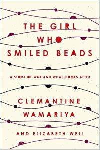 The Girl Who Smiled Beads book summary