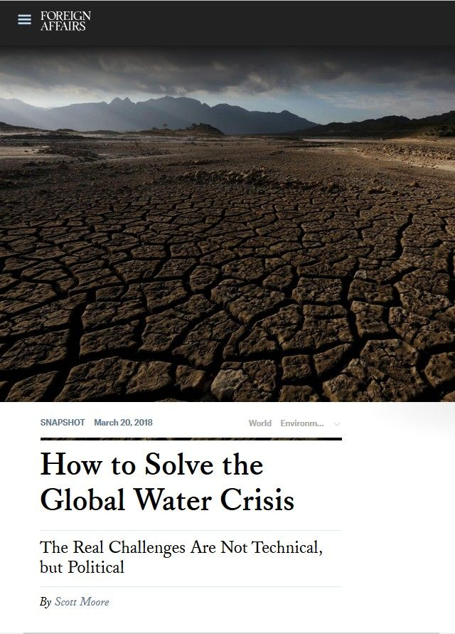 Image of: How to Solve the Global Water Crisis
