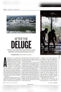 After the Deluge summary