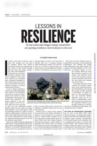 Lessons in Resilience summary