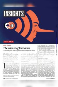 The Science of Fake News summary