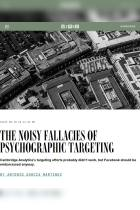 The Noisy Fallacies of Psychographic Targeting