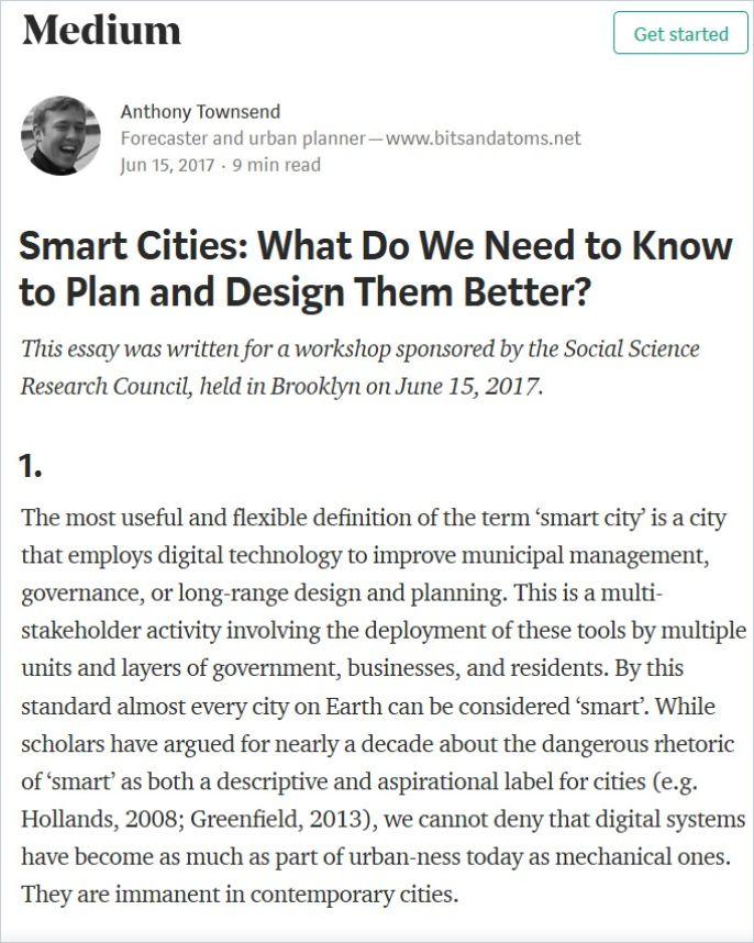 Image of: Smart Cities